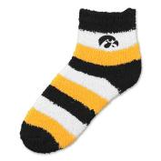 NCAA - Iowa Hawkeyes Women's Pro Stripe Sleep Soft Socks