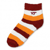 NCAA - Virginia Tech Hokies Women's Pro Stripe Sleep Soft Socks