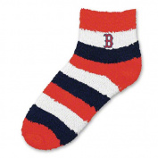 MLB - Boston Red Sox Women's Pro Stripe Sleep Soft Socks