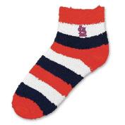 MLB - St. Louis Cardinals Women's Pro Stripe Sleep Soft Socks