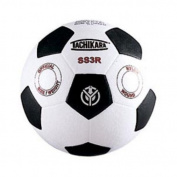 Tachikara SS3R Size 3 Soccer Ball - White-Black