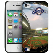 "MLB - Milwaukee Brewers ""Miller Park"" Stadium Collection iPhone 4/4S Case"