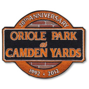 MLB - Baltimore Orioles - Oriole Park at Camden Yards 20th Anniversary Patch