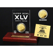 NFL - Green Bay Packers Super Bowl XLV Champions 24KT Gold in Etched Acrylic