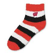 NCAA - Wisconsin Badgers Women's Pro Stripe Sleep Soft Socks