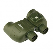 Firefield Sortie Military 7x50 Reticule Binoculars with Lit Compass, OD