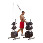 Body Solid GSWT Standard Plate Tree and Bar Holder