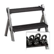 Body-Solid Dumbbell/Kettlebell Rack