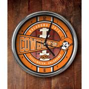 NCAA - Oklahoma State Cowboys Chrome Clock