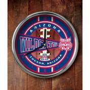 NCAA - Arizona Wildcats Chrome Clock