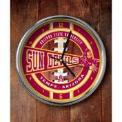 NCAA - Arizona State Sun Devils Chrome Clock