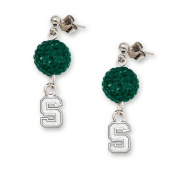 NCAA - Michigan State Spartans Ovation Sterling Silver Earrings
