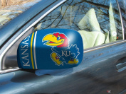 Fanmats 12019 COL - 5.5 in. x8 in. - University of Kansas Small Mirror Cover