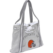 NFL Hoodie Purse Grey/Cleveland Browns