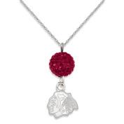 NHL - Chicago Blackhawks Ovation Sterling Silver Pendant Necklace