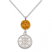 NHL - Boston Bruins Ovation Sterling Silver Pendant Necklace