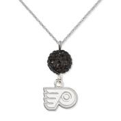 NHL - Philadelphia Flyers Ovation Sterling Silver Pendant Necklace
