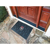 Fanmats 11374 University of New Mexico Medallion Door Mat