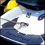 Kwik Tek PWCD-2 Dock Lines With Snap Hooks - 2 Pack