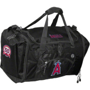 MLB - Los Angeles Angels of Anaheim Black Roadblock Duffle Bag