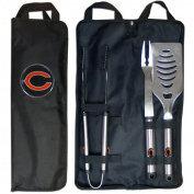 NFL 3-Piece BBQ Set with Canvas Case, Chicago Bears