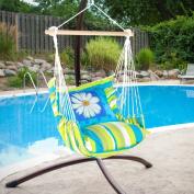 Magnolia Casual Daisy Days Hammock Chair & Pillow Set