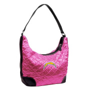 NFL - San Diego Chargers Pink Quilted Hobo Purse