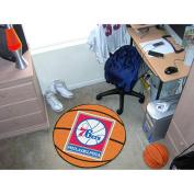 FANMATS 10200 Philadelphia 76ers Basketball Mat