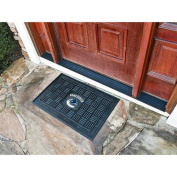 Fanmats 11469 NHL - 19 in. x30 in. - Vancouver Canucks Medallion Door Mat