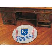 FanMats Kansas City Royals Baseball Mat F0006388