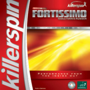 Killerspin 419-01 Fortissimo High Tension Table Tennis Rubber - Max - Red