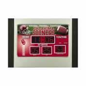 Team Sports America Oklahoma Scoreboard Desk Clock