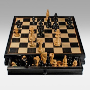 38cm Russian Style Chess & Checkers Set