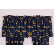 College Covers WVACVL West Virginia Printed Curtain Valance- 84 x 15