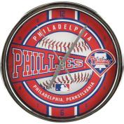 MLB - Philadelphia Phillies Chrome Clock
