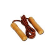 Valour Athletics Jump Rope with Wood / Bearing Handle