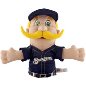 "MLB Milwaukee Brewers ""Bernie the Brewer"" Mascot Hand Puppet"