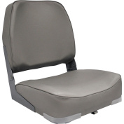 Attwood Econo Low-Back Boat Seat, Grey