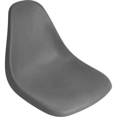 Attwood Single-Piece Moulded Boat Seat, Grey