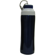 Stansport Stainless Steel 470ml Sports Bottle, Blue