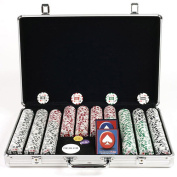 Trademark Poker 650pc 11.5g 4 Aces Chips with Executive Aluminium Case