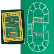 Trademark Poker 90cm x 180cm Baccarat Felt Layout