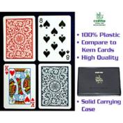 CopagT Poker Size REGULAR Index - Blue*Red Setup