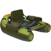 Classic Accessories 32-001-011101-00 The Cumberland -Backpackable float tube - Apple Green-Olive