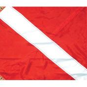 SeaSense Nylon Dive Flag with 3pc Stiffener