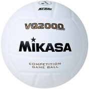 Mikasa VQ2000 Micro-Cell Indoor Volleyball, White