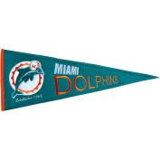 Winning Streak WSS-61161 Miami Dolphins NFL Throwback Pennant 13x32