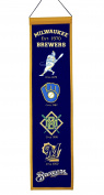 Winning Streak Sports 46016 Milwaukee Brewers Heritage Banner
