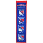 Winning Streak Sports 47001 New York Rangers Heritage Banner
