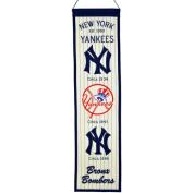 Winning Streak Sports 46013 New York Yankees Heritage Banner